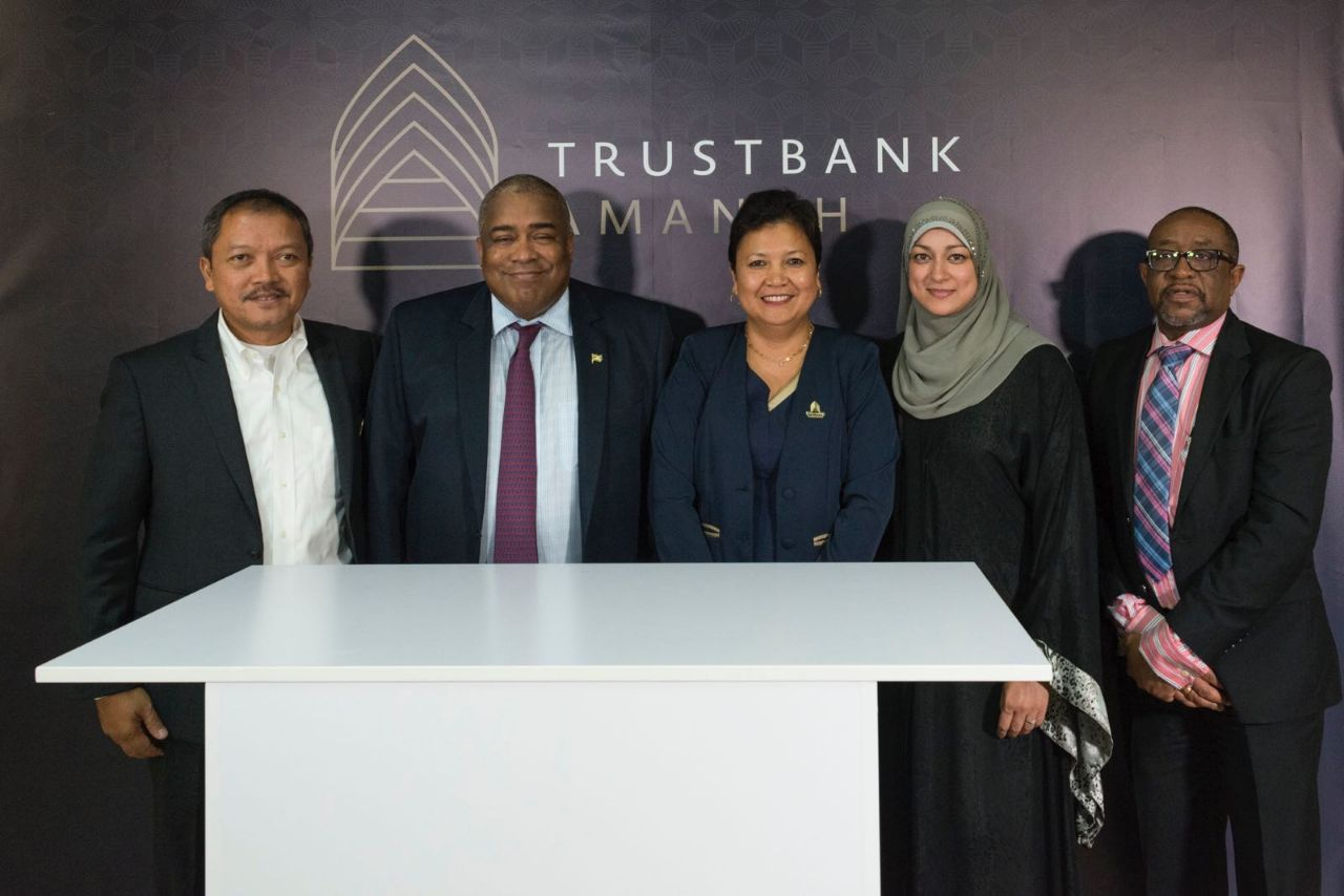 Trustbank Amanah, the first Islamic Bank in Suriname and region, to play an important role in the development of entrepreneurship and economic growth